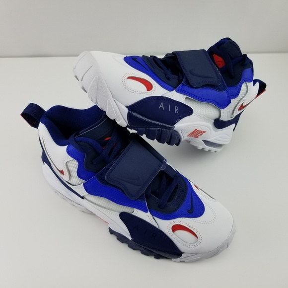 1846a8b2cf Nike Shoes | Air Max Speed Turf Giants Void Racer Blue Red | Poshmark